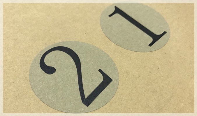 Brown Kraft Paper Labels