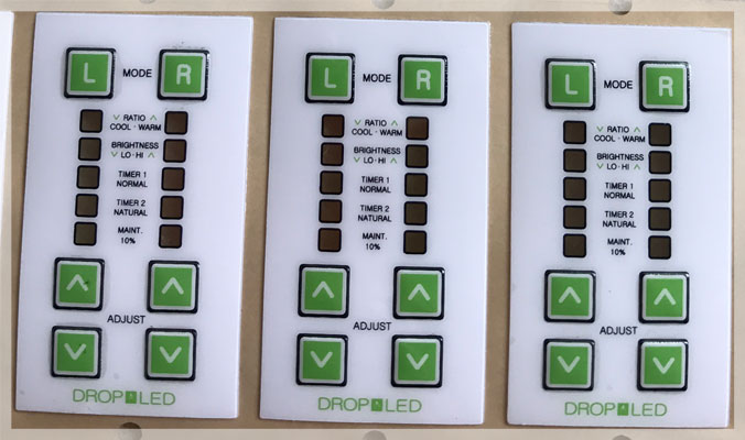 Control Panel Overlays