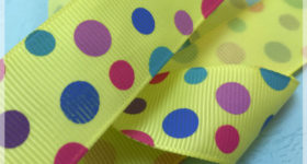 Custom Printed Grosgrain Ribbon
