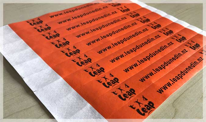 Custom Printed Tyvek Wristbands