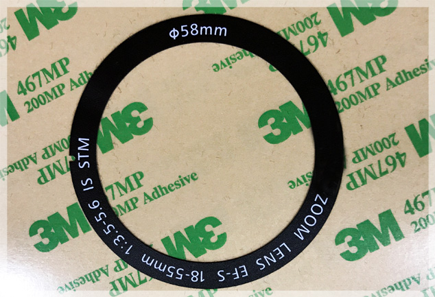 Matt Black Polycarbonate Stickers