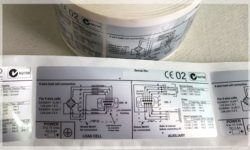 Matte Silver Polyester Labels