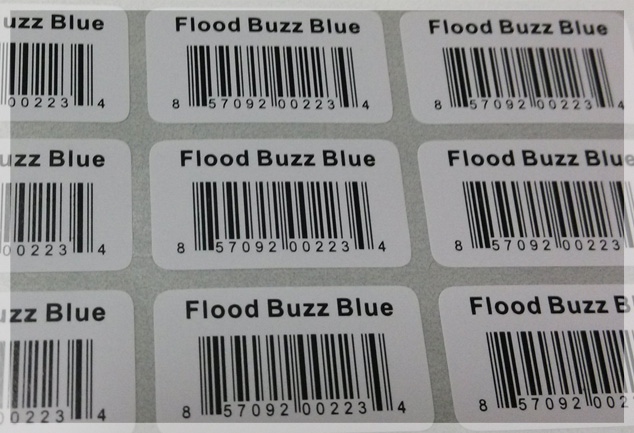 Paper Barcode Stickers