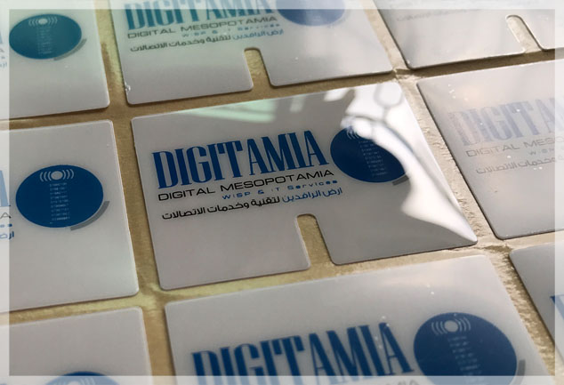 Screen Printed Glossy Polycarbonate Labels