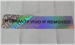Warranty Void if Removed Stickers